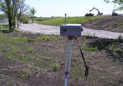 Air Monitoring Equipment, Area 4A / Looking East (April 29, 2015)