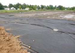 Excavation Activities, Former Ballfields / Looking North (August 31, 2015)