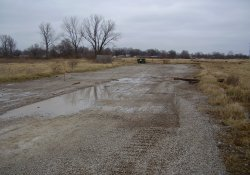 OU-2 Former Ballfields Area / Looking North / Northwest (December 16, 2014)