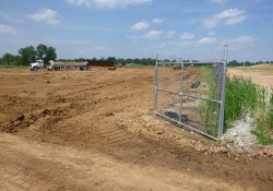 Progress of OU-2 Excavation and Backfill Activities / Looking North (July 24, 2015)