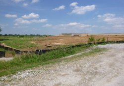 Progress of OU-2 Excavation and Backfill Activities / Looking East / Northeast (July 24, 2015)