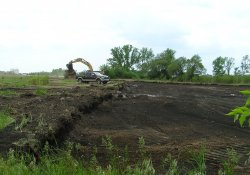 OU-2 Former Ballfields Excavation Activities / Looking South / Southwest (May 5, 2015)