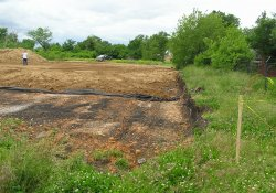 OU-2 Former Ballfields Clean Soil Backfill Activities, Northeast Corner / Looking West (May 26, 2015)
