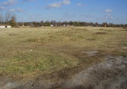 Former Ballfields Area in OU-2 From the Southwest Corner / Looking North / Northwest (November 14, 2014)