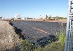 OU-2 Paule Property Material Excavation / Looking South / Southwest (October 15, 2015)
