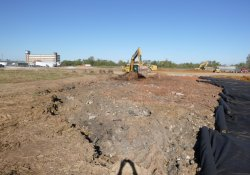 OU-2 Paule Property Material Excavation / Looking West (October 16, 2015)