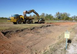 OU-2 Paule Property Material Excavation / Looking North / Northwest (October 13, 2015)