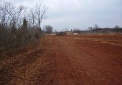 Site Clearing, Grubbing and Mulching in Southern RDA / Looking West (March 19, 2014)